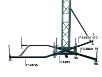 Bazė scenos stogui  Global Truss F34BS